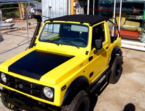 Fabrication capote 4×4