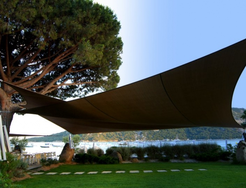 Fabrication voile d'ombrage de terrasse